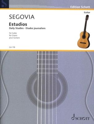 Andrés Segovia - 毎日の研究 - 楽譜 - di-arezzo.jp