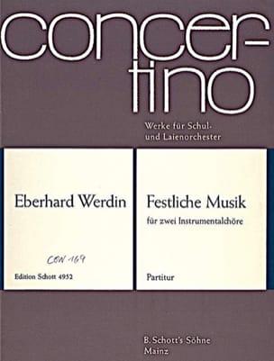Eberhard Werdin - Festliche Musik - Partitur - Sheet Music - di-arezzo.co.uk