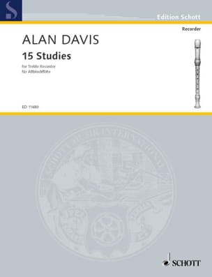 Alan Davis - Fifteen Studies - Sheet Music - di-arezzo.com