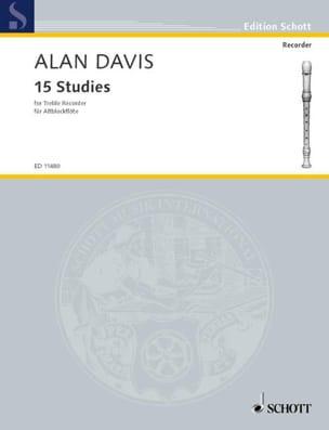 Alan Davis - Fifteen Studies - Sheet Music - di-arezzo.co.uk