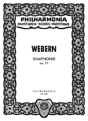 Anton Webern - Symphony op. 21 - Partitur - Sheet Music - di-arezzo.co.uk