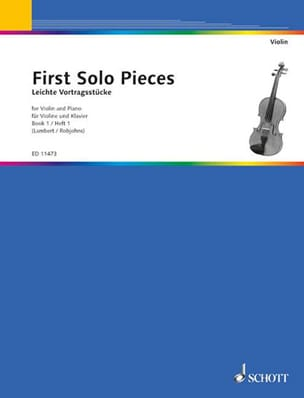 solo pieces First - First solo pieces, book 1 - Partition - di-arezzo.fr