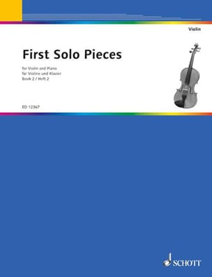 solo pieces First - First solo pieces, book 2 - Partition - di-arezzo.fr