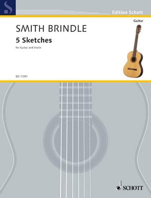 Brindle Reginald Smith - 5 Sketches - Partition - di-arezzo.fr