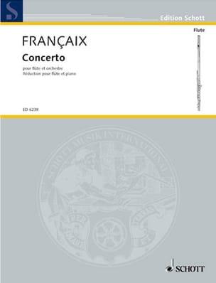 Jean Françaix - Flute Concerto - Piano Flute - Sheet Music - di-arezzo.com