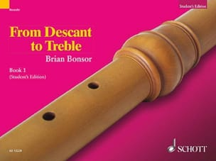 Brian Bonsor - From Descant to Treble - Part 1 - Sheet Music - di-arezzo.co.uk