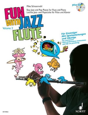 Fun with Jazz Flute - Volume 2 Mike Schoenmehl Partition laflutedepan
