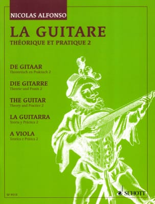 Nicolas Alfonso - The theoretical and practical guitar - Volume 2 - Sheet Music - di-arezzo.co.uk