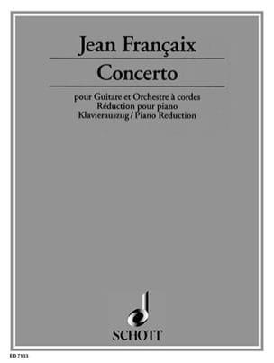 Jean Françaix - Gitarren-Konzert 1982/83 - Sheet Music - di-arezzo.com