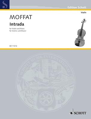 Intrada Alfred Moffat Partition Violon - laflutedepan