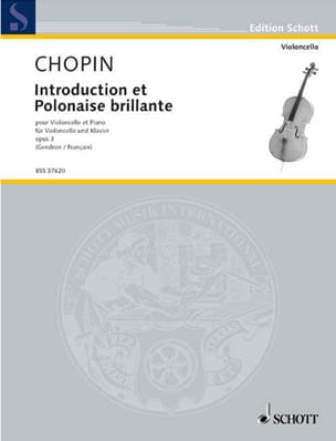 CHOPIN - Introduction et Polonaise brillante op. 3 - Partition - di-arezzo.fr