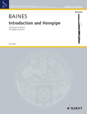 Francis Baines - Introduction and Hornpipe - Sheet Music - di-arezzo.com