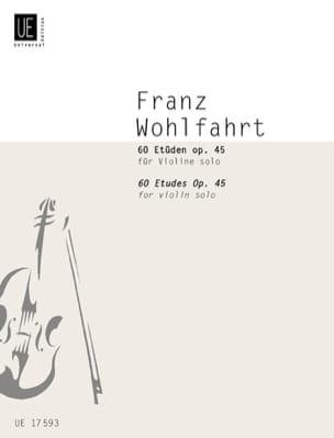 Franz Wohlfahrt - 60 Etüden für Violine Solo - Noten - di-arezzo.de
