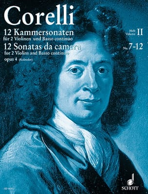 CORELLI - 12 Kammersonaten op. 4 Bd. 2: Nr. 7-12 - 2 Violinen u. Bc - Sheet Music - di-arezzo.com