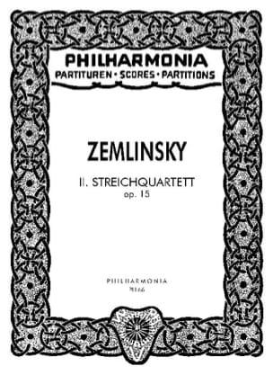 Streichquartett Nr. 2 op. 15 - Partitur - laflutedepan.com