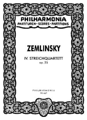 Streichquartett Nr. 4 op. 25 – Partitur - laflutedepan.com