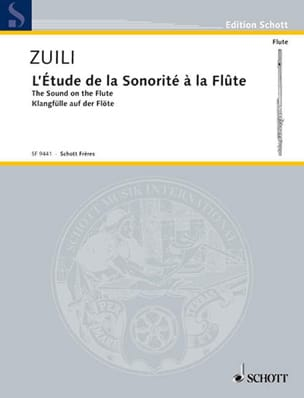 Marc Zuili - The study of the sound - Sheet Music - di-arezzo.com