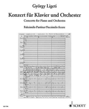 György Ligeti - Klavier-Konzert 1985-88 - Faksimile-Partitur - Partitura - di-arezzo.es