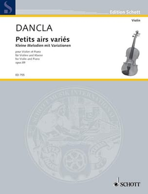 DANCLA - Kleine Melodien mit Variationen op. 89 - Sheet Music - di-arezzo.co.uk