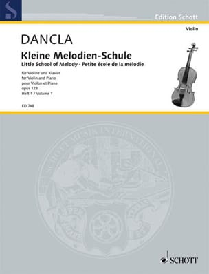 DANCLA - Kleine Melodien-Schule op. 123, Heft 1 - Sheet Music - di-arezzo.co.uk