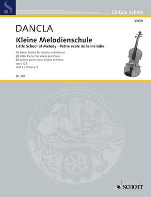 DANCLA - Kleine Melodien-Schule op. 123, Heft 2 - Sheet Music - di-arezzo.co.uk