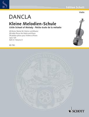DANCLA - Kleine Melodien-Schule op. 123, Heft 3 - Sheet Music - di-arezzo.co.uk