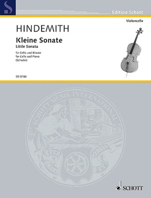 Paul Hindemith - Kleine Sonate - Partition - di-arezzo.fr