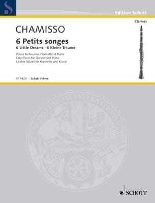 Chamisso Olivier Mayran De / Chamisso Carole - 6 Petits songes - Partition - di-arezzo.fr