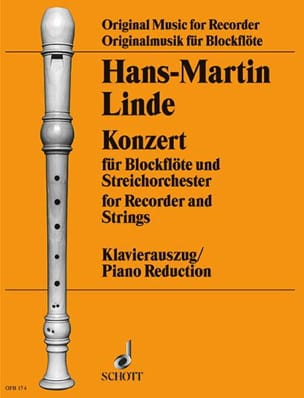 Hans-Martin Linde - Konzert für Blockflöte - Sheet Music - di-arezzo.co.uk