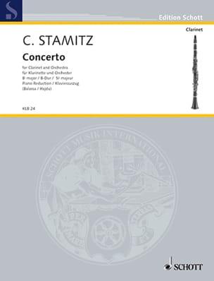 Konzert B-Dur Darmst. Kzt Nr. 2 - Klarinette Klavier laflutedepan