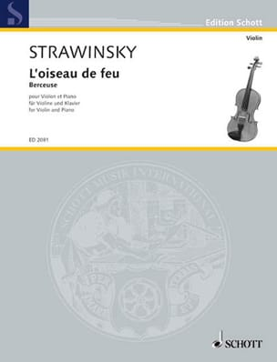 Igor Stravinsky - Lullaby extr. The Firebird - Violin - Sheet Music - di-arezzo.co.uk