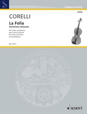 Corelli Arcangelo / Léonard H. - The Folia op. 5 n ° 12 - Sheet Music - di-arezzo.co.uk