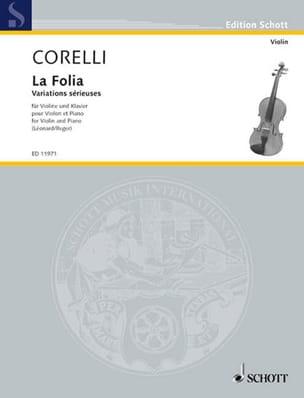 Corelli Arcangelo / Léonard H. - La Folia op. 5 n° 12 - Partition - di-arezzo.fr