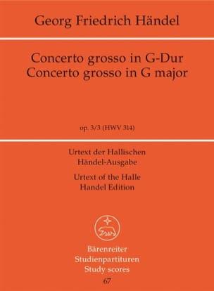 Concerto Grosso Sol majeur - laflutedepan.com