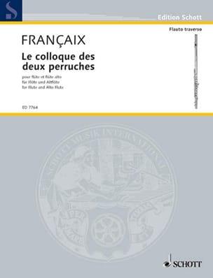 Le Colloque des deux perruches FRANÇAIX Partition laflutedepan
