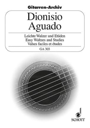 Dionisio Aguado - Leichte Walzer und Etüden - Partition - di-arezzo.fr