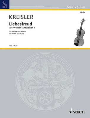 Fritz Kreisler - Liebesfreud - Sheet Music - di-arezzo.co.uk