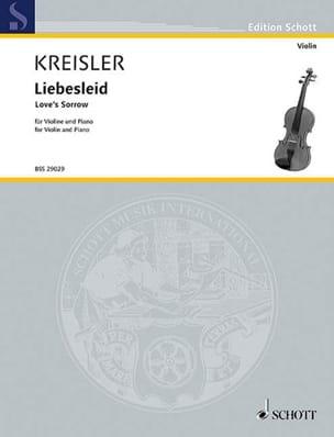 Fritz Kreisler - Liebesleid - Partition - di-arezzo.ch