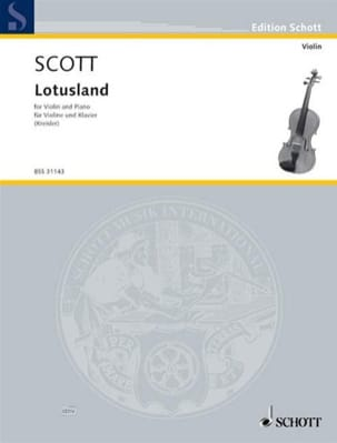 Scott Cyril / Kreisler Fritz - Lotusland - Sheet Music - di-arezzo.com