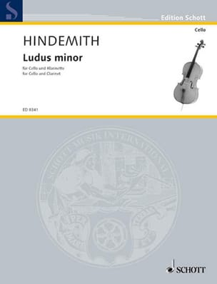Ludus Minor HINDEMITH Partition Duos - laflutedepan