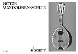 Walter Götze - Mandolinen-Schule - Partitura - di-arezzo.es