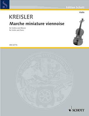 Fritz Kreisler - Viennese miniature walk - Sheet Music - di-arezzo.co.uk