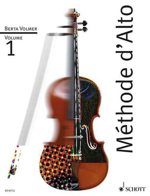 Berta Volmer - Alto Volume 1 Method - Sheet Music - di-arezzo.co.uk