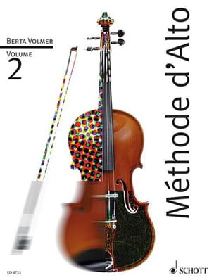 Berta Volmer - Alto Method Volume 2 - Sheet Music - di-arezzo.co.uk