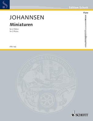 Miniaturen – 2 Flöten - Kay Johannsen - Partition - laflutedepan.com