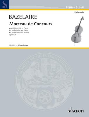 Paul Bazelaire - Piece of competition op. 124 - Partition - di-arezzo.co.uk