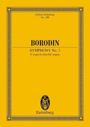 Sinfonie Nr. 1 Es-Dur BORODINE Partition Petit format - laflutedepan