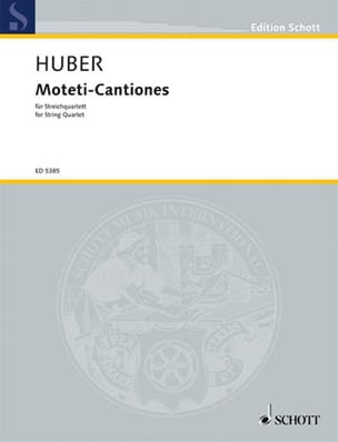 Moteti-Cantiones (1962/63) - Klaus Huber - laflutedepan.com