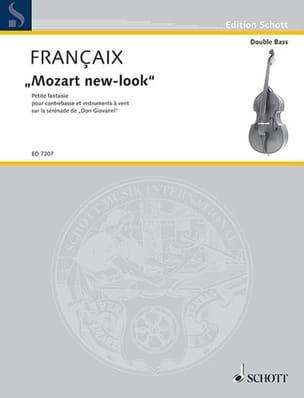 Jean Françaix - Mozart new-look – contrebasse piano - Partition - di-arezzo.fr