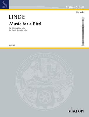 Music for a Bird - Hans-Martin Linde - Partition - laflutedepan.com